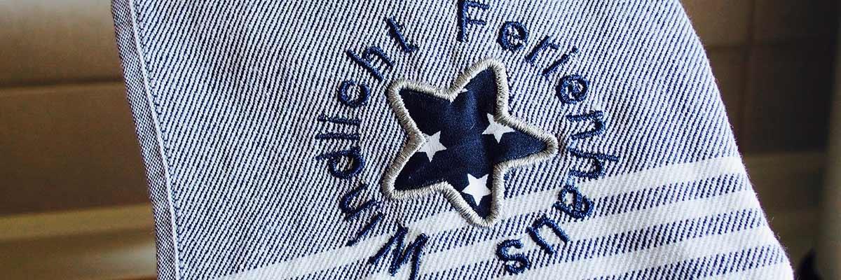 Handtuch mit Emblem